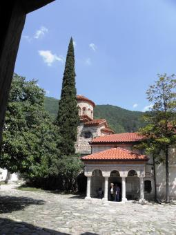 Free Stock Photo of Bachkovski monastery in the Rhodopes.