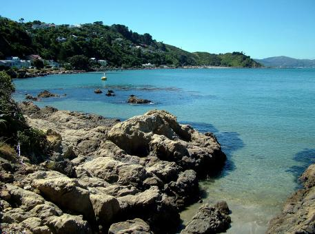 Free Stock Photo of Karaka Bay, Wellington