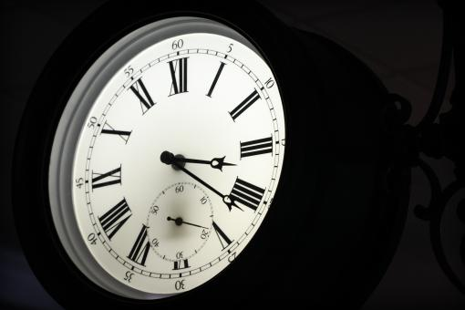 Free Stock Photo of Roman Clock