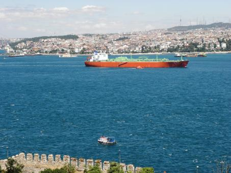 Free Stock Photo of View from the Bosphorus