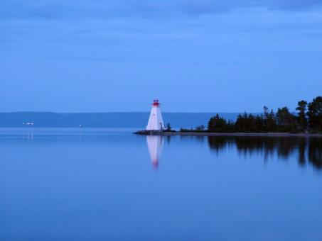 Free Stock Photo of Baddeck Lighthouse