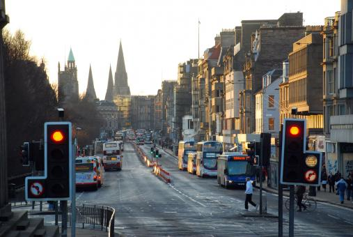 Free Stock Photo of Edinburgh, Princes Street
