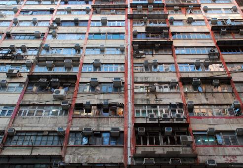 Free Stock Photo of Hong Kong Apartments