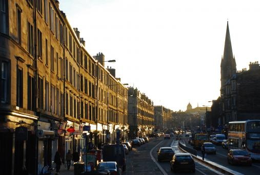 Free Stock Photo of Leith Walk, Edinburgh