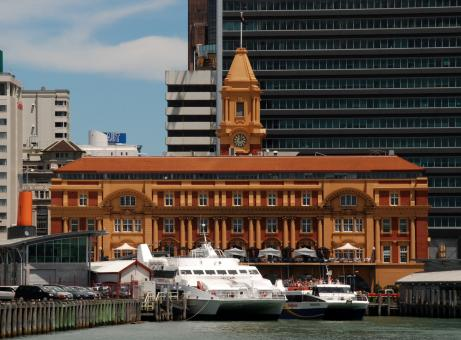Free Stock Photo of Auckland Ferry Building