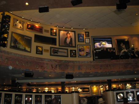 Free Stock Photo of Wall at the hardrock cafe