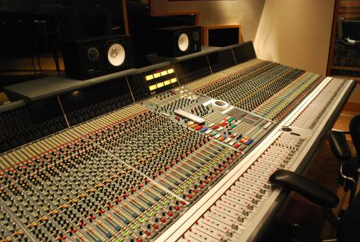 Free Stock Photo of Recording studio