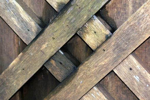 Free Stock Photo of Wood crosshatch