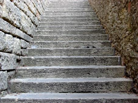 Free Stock Photo of Stony Stairs