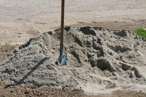 Free Stock Photo of Shovel in sand