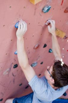 Free Stock Photo of Indoor climber