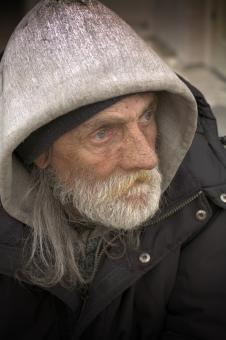 Free Stock Photo of Homeless Portraiture