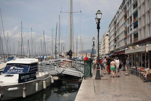 Free Stock Photo of Toulon Waterfront