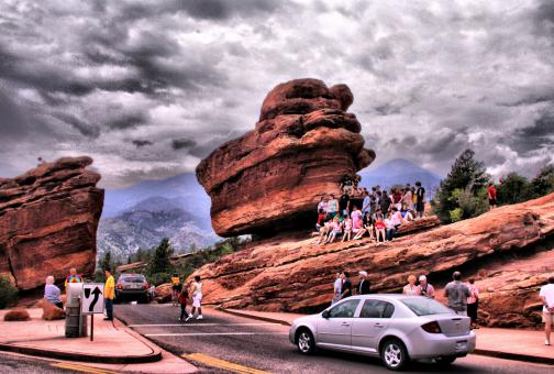 Free Stock Photo of Balanced Rock