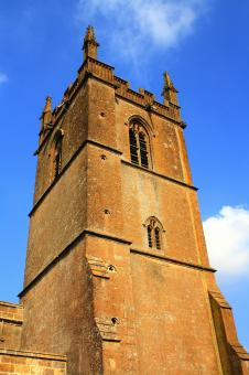 Free Stock Photo of Church Tower