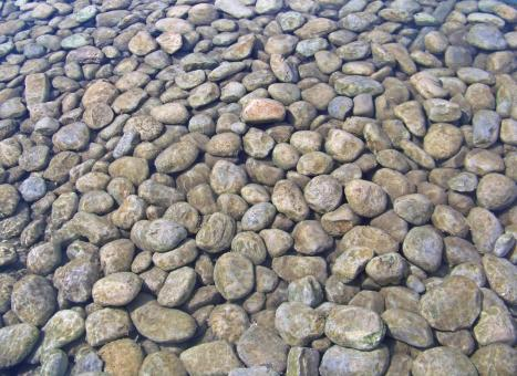 Free Stock Photo of Round pebble stones
