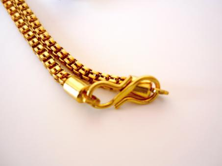 Free Stock Photo of Golden chain
