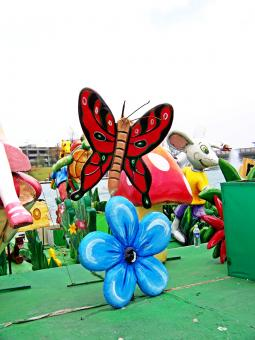 Free Stock Photo of Mexican craft butterfly