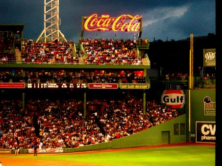 Free Stock Photo of Fenway Baseball Game