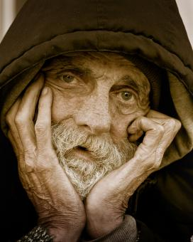 Free Stock Photo of Homless Portraiture