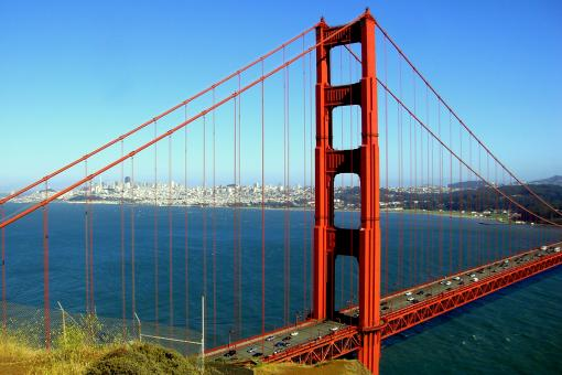 Free Stock Photo of San Francisco - Golden Gate Bridge