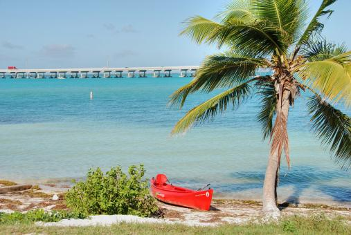 Free Stock Photo of In the middle of the Keys, Florida, Janu