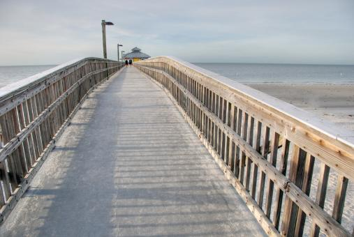 Free Stock Photo of Jetty, Florida, Junuary 2007