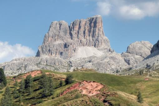 Free Stock Photo of Dolomites, Italy, August 2003