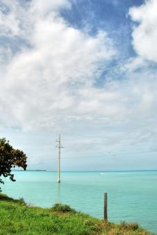 Free Stock Photo of Skies of the Keys, Florida, January 2007