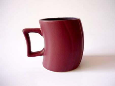 Free Stock Photo of Maroon Mug