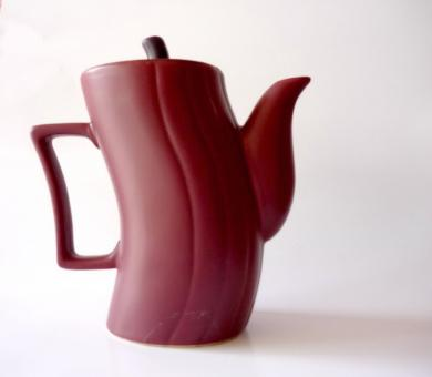 Free Stock Photo of Maroon Kettle