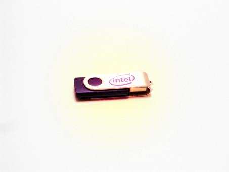 Free Stock Photo of Intel USB Drive