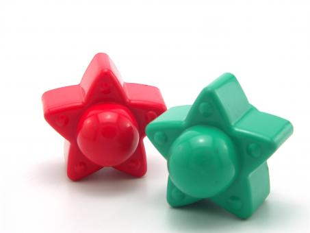 Free Stock Photo of Plastic toy star