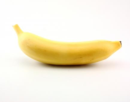 Free Stock Photo of One Banana