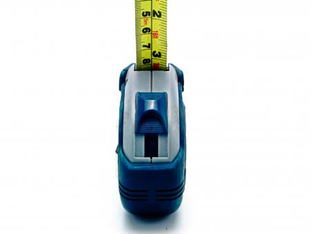 Free Stock Photo of Measuring Tape - Front View