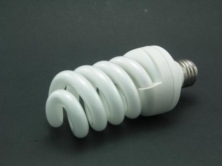 Free Stock Photo of Energy saving light bulb