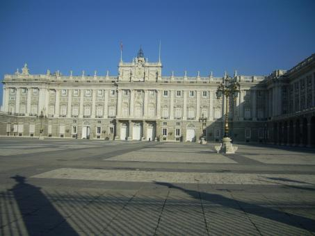 Free Stock Photo of Palacio Real Madrid