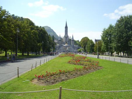 Free Stock Photo of Lourdes, France