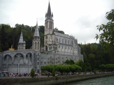 Free Stock Photo of Cathedral of Lourdes (France)