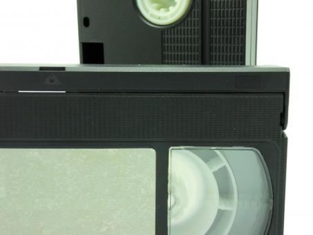 Free Stock Photo of VHS cassettes