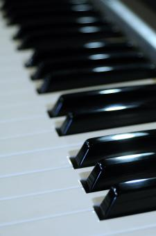 Free Stock Photo of Musical keyboard