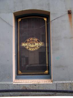 Free Stock Photo of A & T Burts Window Cumberland Street