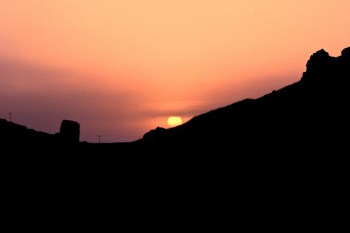 Free Stock Photo of Sunset at Reykjanes Peninsula