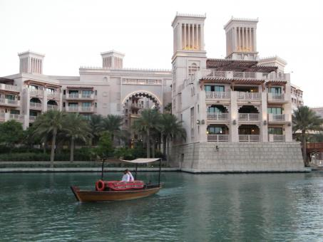 Free Stock Photo of Nice View at Madinat-Dubai