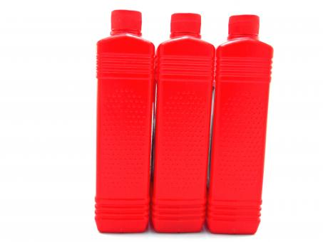 Free Stock Photo of Red plastic bottles