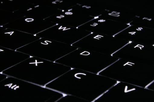 Free Stock Photo of Computing by Night
