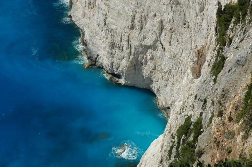 Free Stock Photo of Mediterranean Cliffs