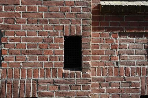 Free Stock Photo of Brick Ventilation