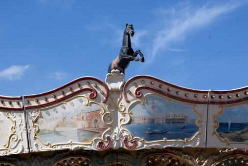 Free Stock Photo of Carousel crest - 2