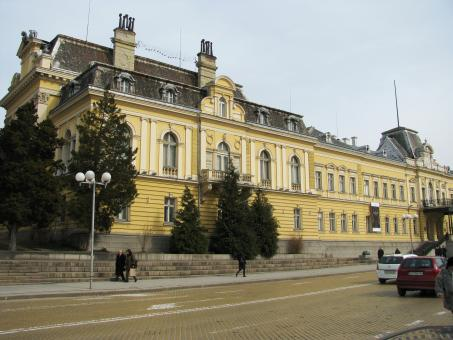 Free Stock Photo of Sofia-former royal palace